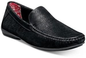 Stacy Adams Men's Cicero Perfed Moc-Toe Slip-On Shoes Men's Shoes