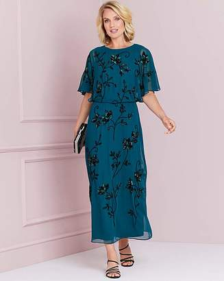 Nightingales Angel Sleeve Maxi Dress