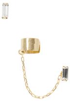 Dora Crystal Ear Cuff & Stud Earring Set