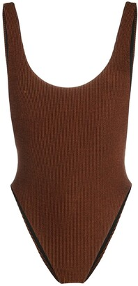 Reina Olga Funky ribbed swimsuit