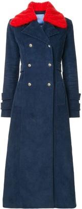 macgraw Starman corduroy coat