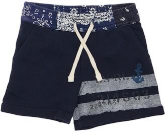 Ralph Lauren Printed Cotton Sweat Shorts