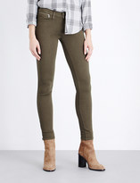 Paige Shay mid-rise stretch-denim jeans