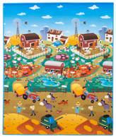 Prince Lionheart Reversible playMAT - City/Farm