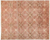 """Solo Rugs 8'1""""x10' Suzani Rug - Pink/Beige"""