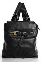 Aimee Kerstenberg Aimee Kestenberg Black Leather Buckle Detail Small Kendal Backpack Handbag NWT