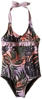Hurley Sunset Palms One-Piece (Little Kids)