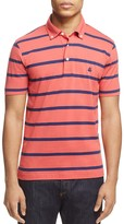Brooks Brothers Stripe Slim Fit Polo Shirt