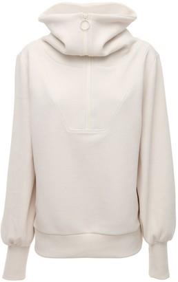 Varley Vine Cotton Blend Half-zip Sweatshirt