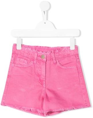 MonnaLisa Frayed Edge Denim Shorts