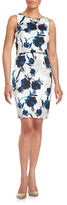 Ivanka Trump Floral Popover Dress