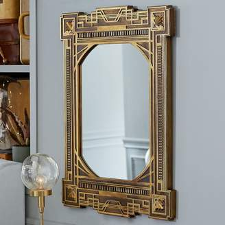Pottery Barn Teen FANTASTIC BEASTS Art Deco Mirror