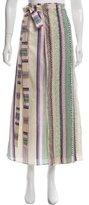 Etro Embellished Wrap Skirt