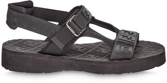 Fendi jacquard FF motif sandals