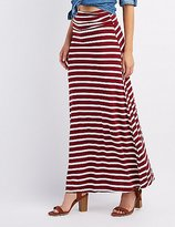 Fitted High Waisted Maxi Skirt - ShopStyle