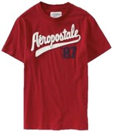 Aeropostale Men's Script Logo T-Shirt
