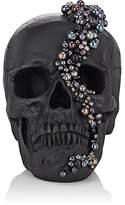 Lisa Carrier Designs Pearl-Embellished Resin Skull