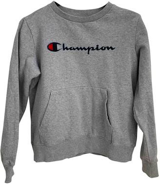 Champion Grey Cotton Knitwear