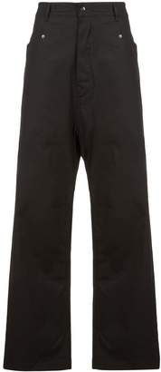 Rick Owens wide-leg flared trousers