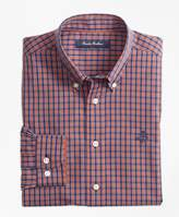 Brooks Brothers Non-Iron Mini Tattersall Sport Shirt