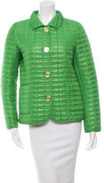 Kate Spade Long Sleeve Button-Up Jacket