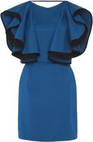 Emilio De La Morena Flutter Sleeve Mini Dress