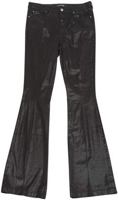 Marciano Black Cotton Trousers