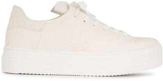 Sam Edelman Pippy leather lace-up trainers