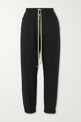 Rick Owens Zip-embellished Woven Track Pants