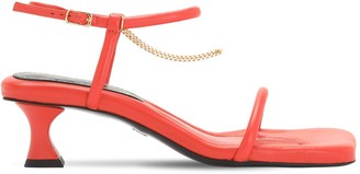 Proenza Schouler 50mm Leather & Chain Sandals