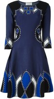 Peter Pilotto intarsia knitted dress
