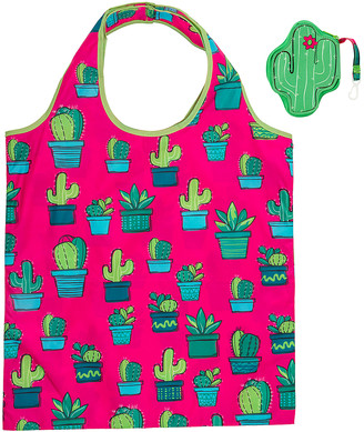 Wit! Gifts Totebags - Pink & Green Cactus Tote