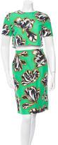 Jonathan Saunders Sylvia Tulip Print Skirt Set