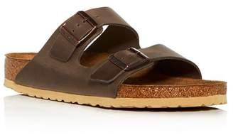 Birkenstock Men's Arizona Leather Slide Sandals