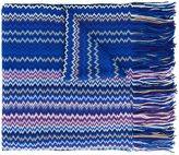 Missoni zig zag knit scarf