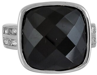 Forever Creations Usa Inc. Forever Creations Silver 11.68 Ct. Tw. Gemstone Ring