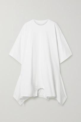 MM6 MAISON MARGIELA Oversized Asymmetric Cotton-jersey Dress