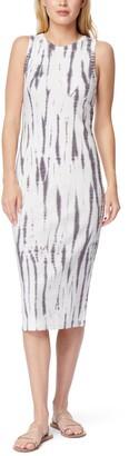 Belen Tie Dye Ribbed Tank Dress