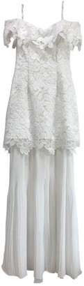 Self-Portrait White Lace Dresses