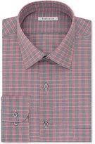 Van Heusen Men's Classic-Fit Wrinkle-Free Gray Multi Dress Shirt