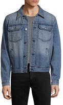 BLK DNM 15 Faded Denim Jacket