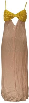 Edun Pink Viscose Dresses