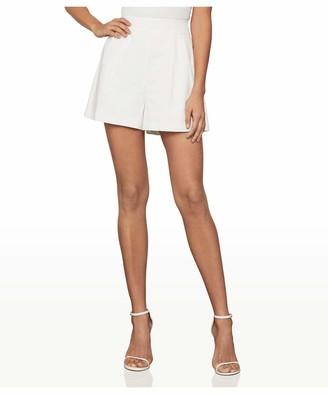 BCBGMAXAZRIA Women's Cotton Linen Shorts