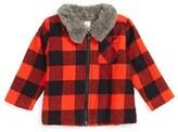 Infant Boy's Tucker + Tate Flannel Jacket