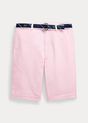 Ralph Lauren Slim Fit Belted Oxford Short