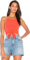 Motel Knot Your Crop in Burnt Orange. - size L (also in M,S,XS)