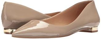 Massimo Matteo Pointy Toe Flat 17 (Desert Patent) Women's Flat Shoes