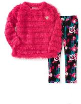 Juicy Couture Little Girl's Two-Piece Fringe Top & Pants Set