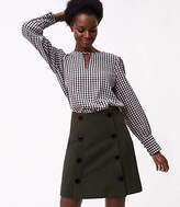LOFT Tall Modern Buttoned Skirt