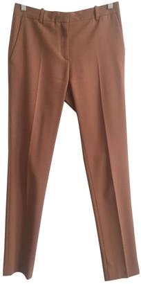 Acne Studios Camel Wool Trousers